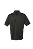 AM0926 SOLID PERFORMANCE POLO in Black
