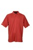 AM0926 SOLID PERFORMANCE POLO in  Racing Red