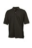MEN'S Classic Solid Pique Polo in Black