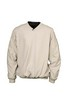 MENS CROSSOVER V-NECK WINDSHIRT  in Stone